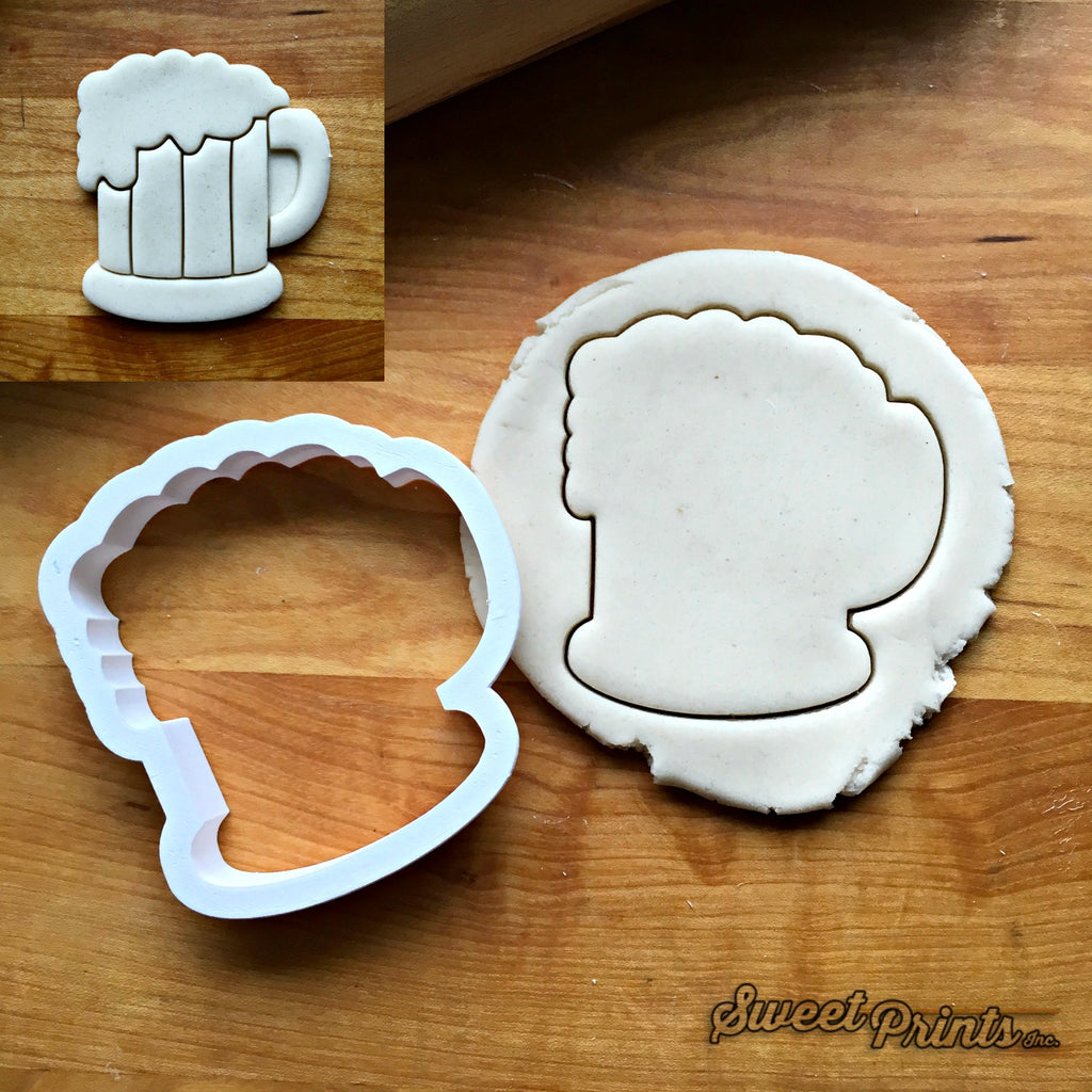 Beer Mug Cookie Cutter/Dishwasher Safe