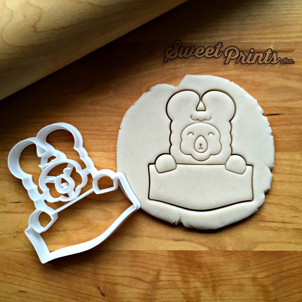 Llama Frame Cookie Cutter/Dishwasher Safe