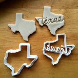 Set of 2 Texas Cookie Cutters/Dishwasher Safe