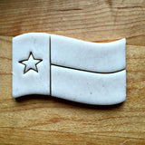 Texas State Flag Cookie Cutter/Dishwasher Safe