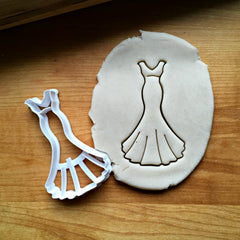 Wedding Dress Cookie Cutter/Dishwasher Safe