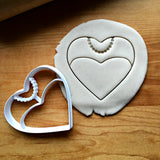 Bride Heart Cookie Cutter/Dishwasher Safe
