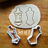 Lingerie/Corset Cookie Cutters/Dishwasher Safe