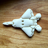 Stealth Fighter Jet Cookie Cutter/Multi-Size/Dishwasher Safe