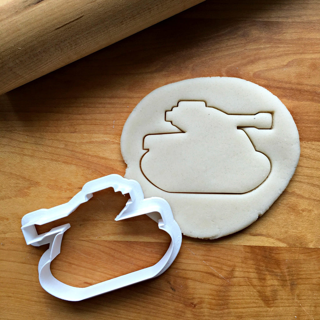 Army Tank Cookie Cutter/Multi-Size/Dishwasher Safe