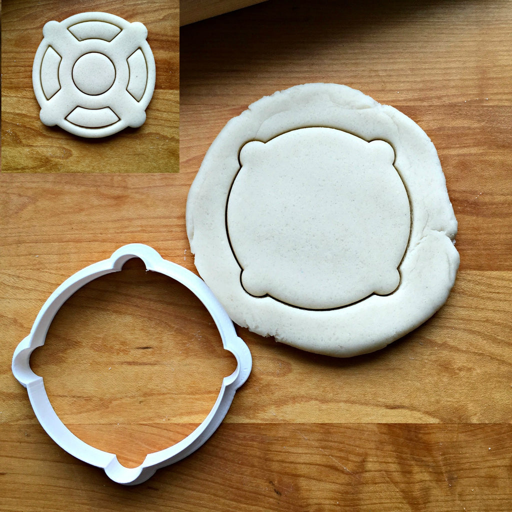 Life Preserver Cookie Cutter/Multi-Size/Dishwasher Safe