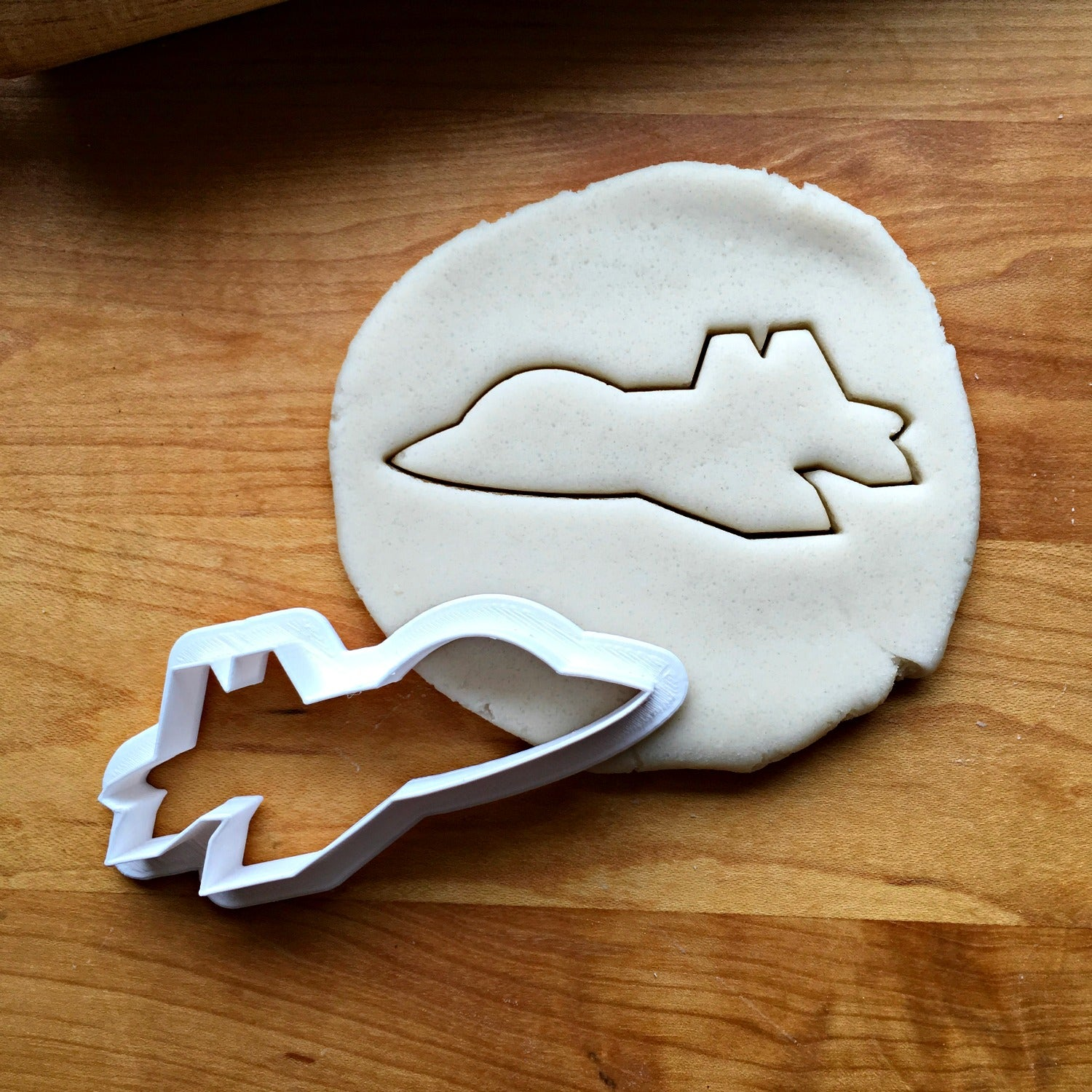Fighter Jet Cookie Cutter/Multi-Size/Dishwasher Safe