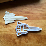 Spy Plane Cookie Cutter/Multi-Size/Dishwasher Safe