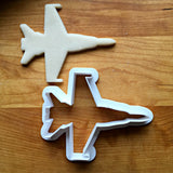 Navy Fighter Jet Cookie Cutter/Multi-Size/Dishwasher Safe
