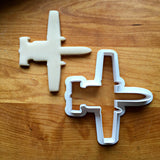 Attack Jet Fighter Cookie Cutter/Multi-Size/Dishwasher Safe - Sweet Prints Inc.