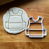 Body Armor Cookie Cutter/Multi-Size/Dishwasher Safe