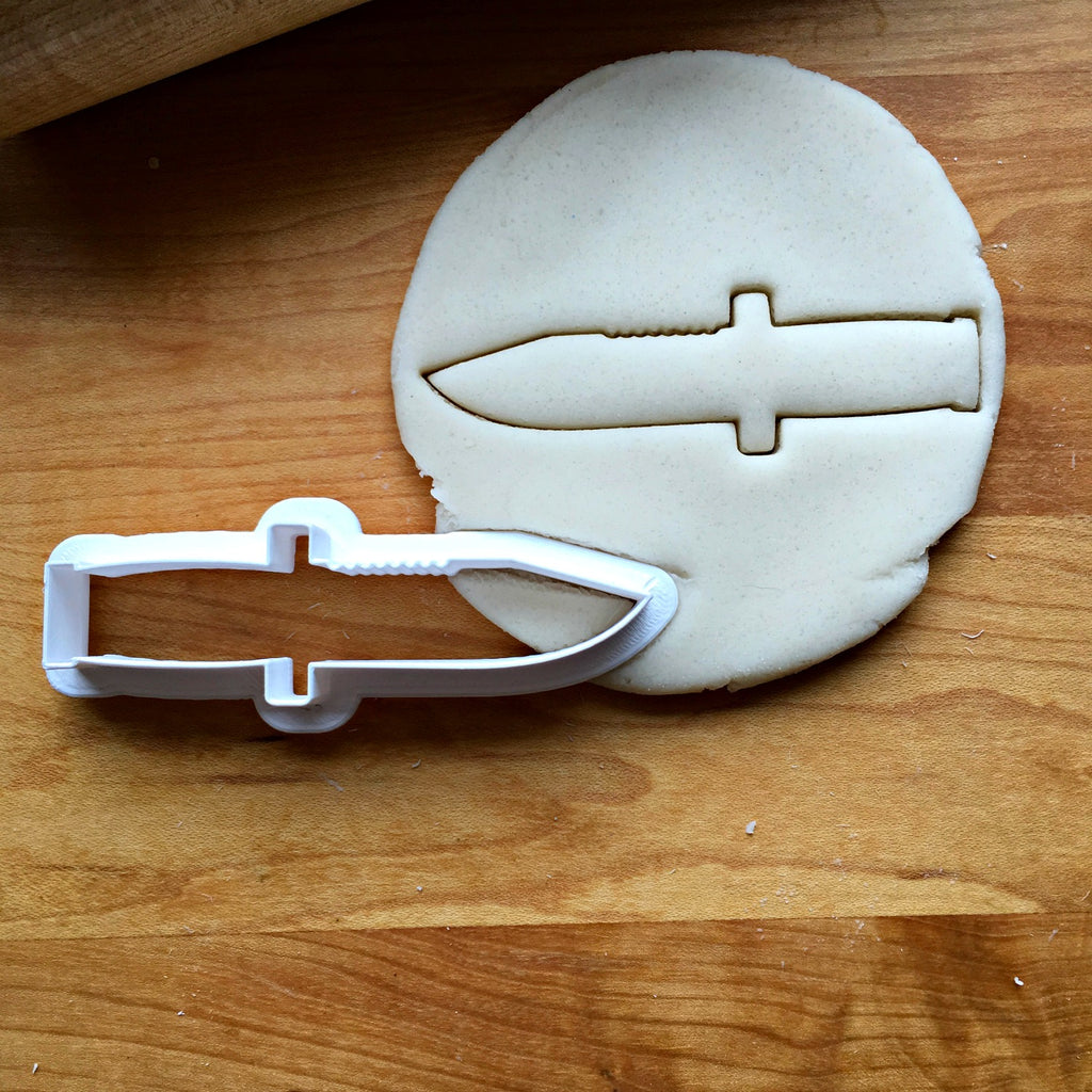 Military Knife Cookie Cutter/Multi-Size/Dishwasher Safe