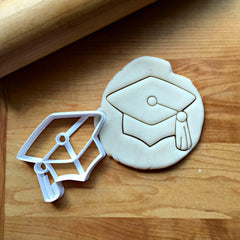 Graduation Cap Cookie Cutter/Dishwasher Safe