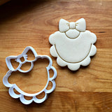Ruffled Baby Bib Cookie Cutter/Dishwasher Safe