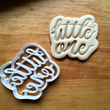 Little One Script Cookie Cutter/Dishwasher Safe