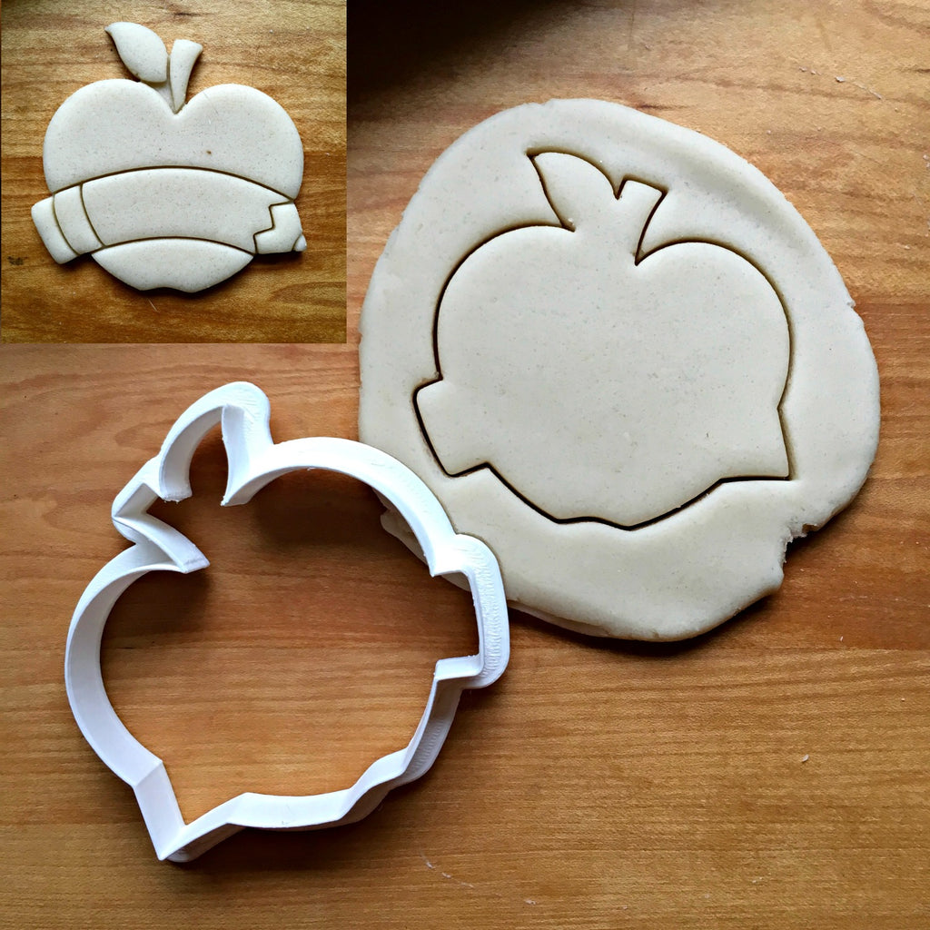 Apple Banner Cookie Cutter/Dishwasher Safe