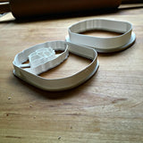Set of 2 Rolled Sushi Cookie Cutters/Dishwasher Safe