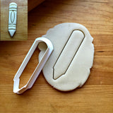 Crayon Cookie Cutter/Dishwasher Safe