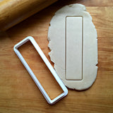 Skinny Rectangle Cookie Cutter/Cookie Stick
