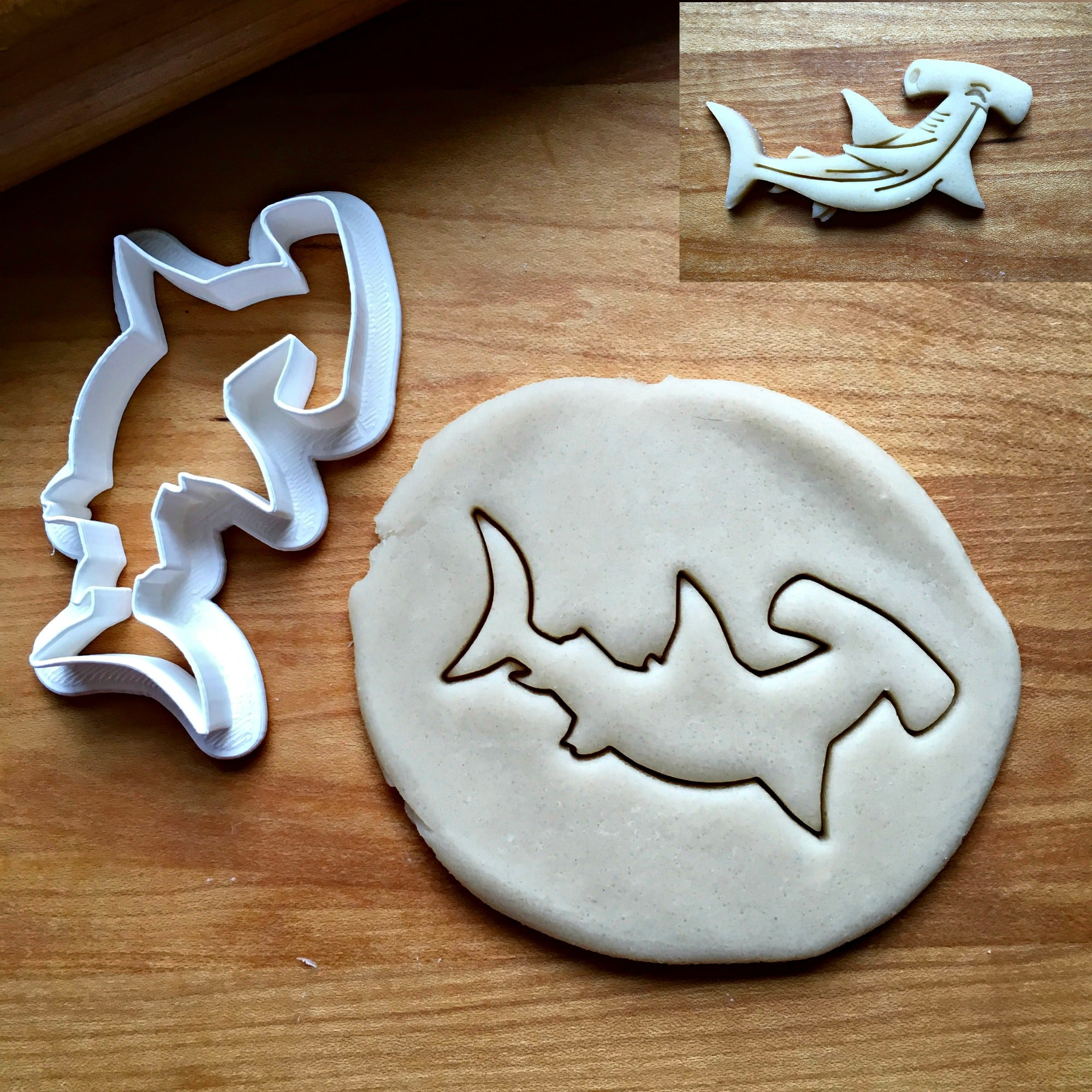 Hammerhead Shark Cookie Cutter/Dishwasher Safe