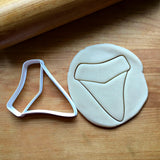 Shark Tooth Cookie Cutter/Dishwasher Safe