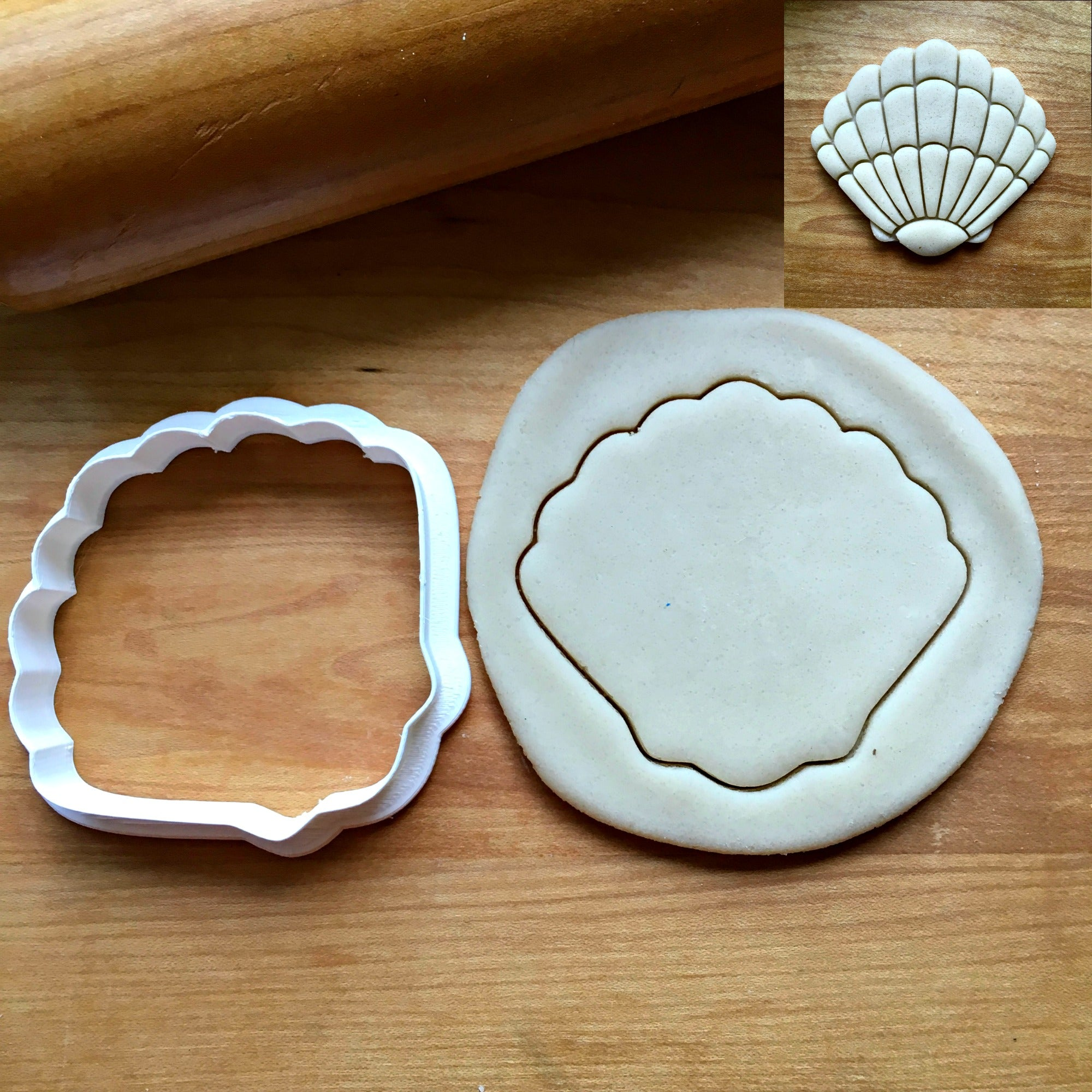 Seashell Cookie Cutter/Dishwasher Safe