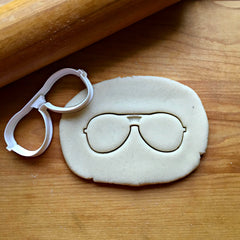 Aviator Sunglasses Cookie Cutter/Dishwasher Safe