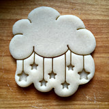 Cloud and Stars Cookie Cutter/Dishwasher Safe
