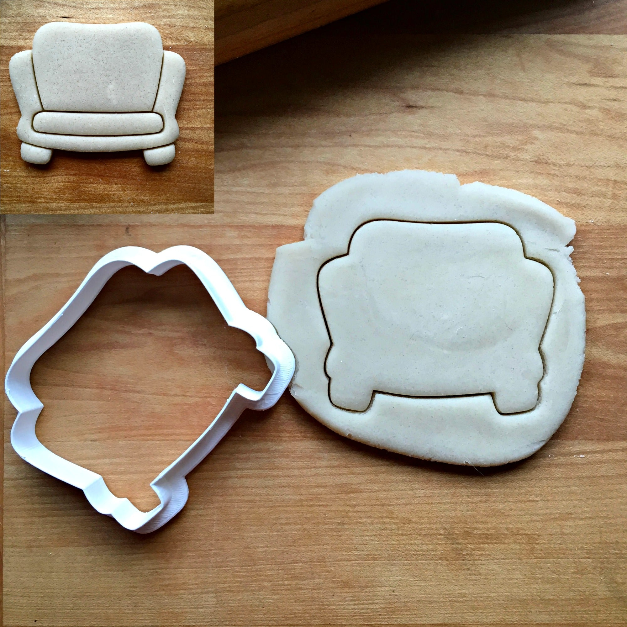 Couch Cookie Cutter/Dishwasher Safe
