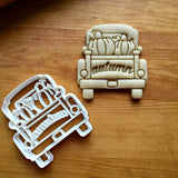 Autumn Pickup Truck with Tailgate Cookie Cutter/Dishwasher Safe - Sweet Prints Inc.