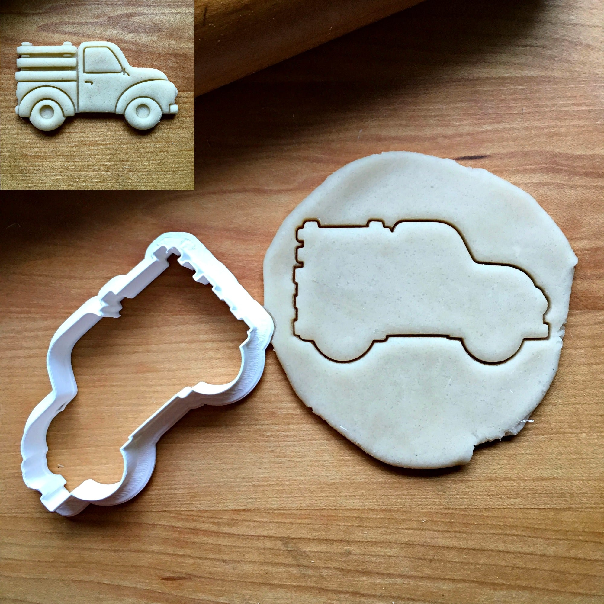 Pickup Truck with Panels Cookie Cutter/Dishwasher Safe