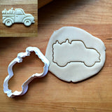 Pickup Truck with Pumpkins Cookie Cutter/Dishwasher Safe