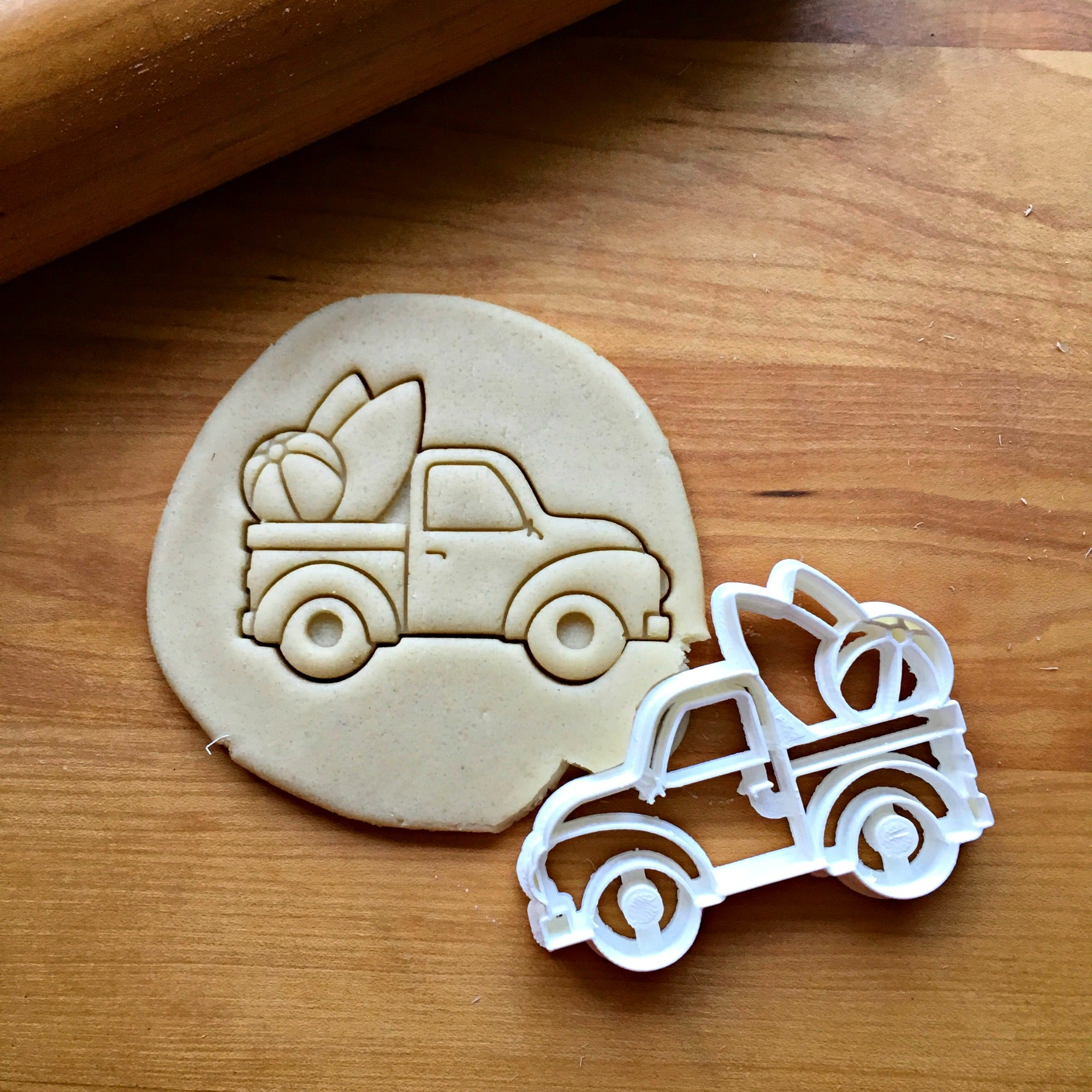 Beach Pickup Truck Cookie Cutter/Dishwasher Safe