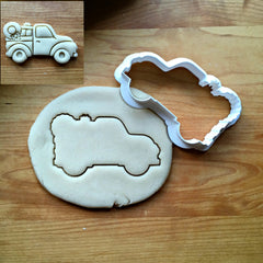 Christmas Pickup Truck Cookie Cutter/Dishwasher Safe