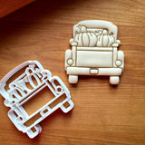 Pumpkin Pickup Truck with Tailgate Cookie Cutter/Dishwasher Safe