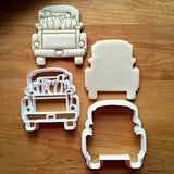 Set of 2 Pumpkin Truck with Tailgate Cookie Cutters/Dishwasher Safe