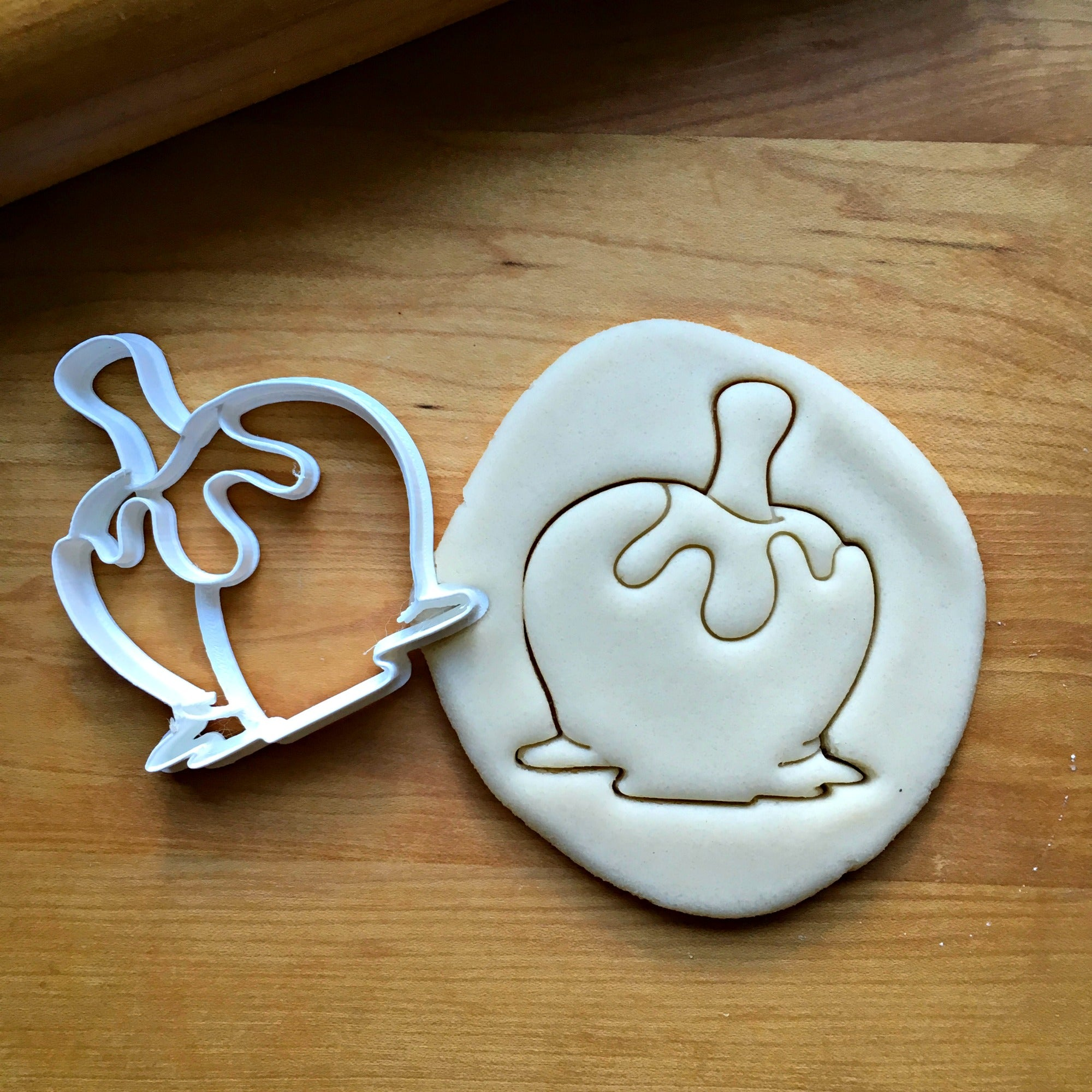 Caramel Apple Cookie Cutter/Dishwasher Safe
