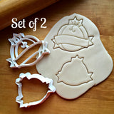 Set of 2 Pumpkin with Banner Cookie Cutters/Dishwasher Safe