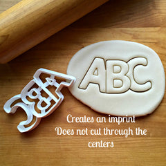 ABC Cookie Cutter/Dishwasher Safe - Sweet Prints Inc.