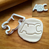 ABC Cookie Cutter/Dishwasher Safe