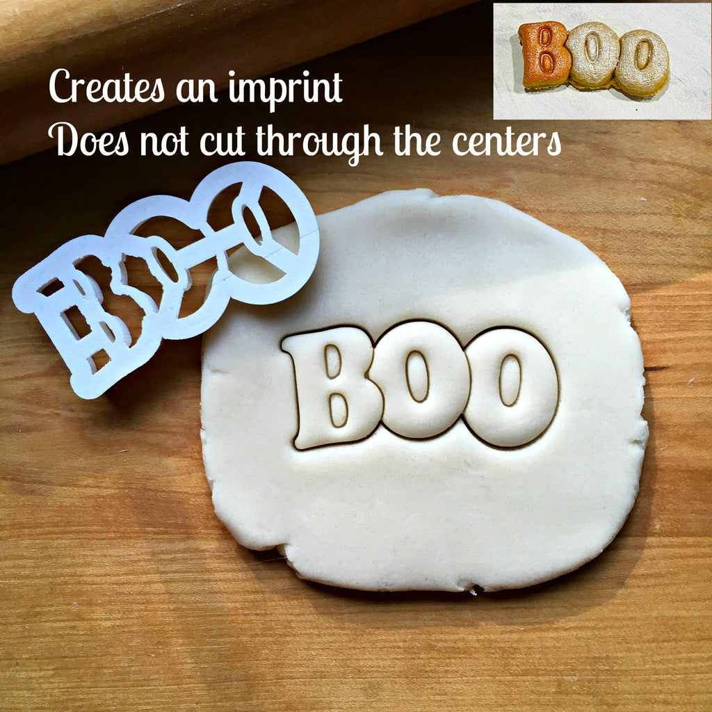 Boo Cookie Cutter/Dishwasher Safe