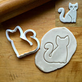 Kitty Cat Cookie Cutter/Dishwasher Safe