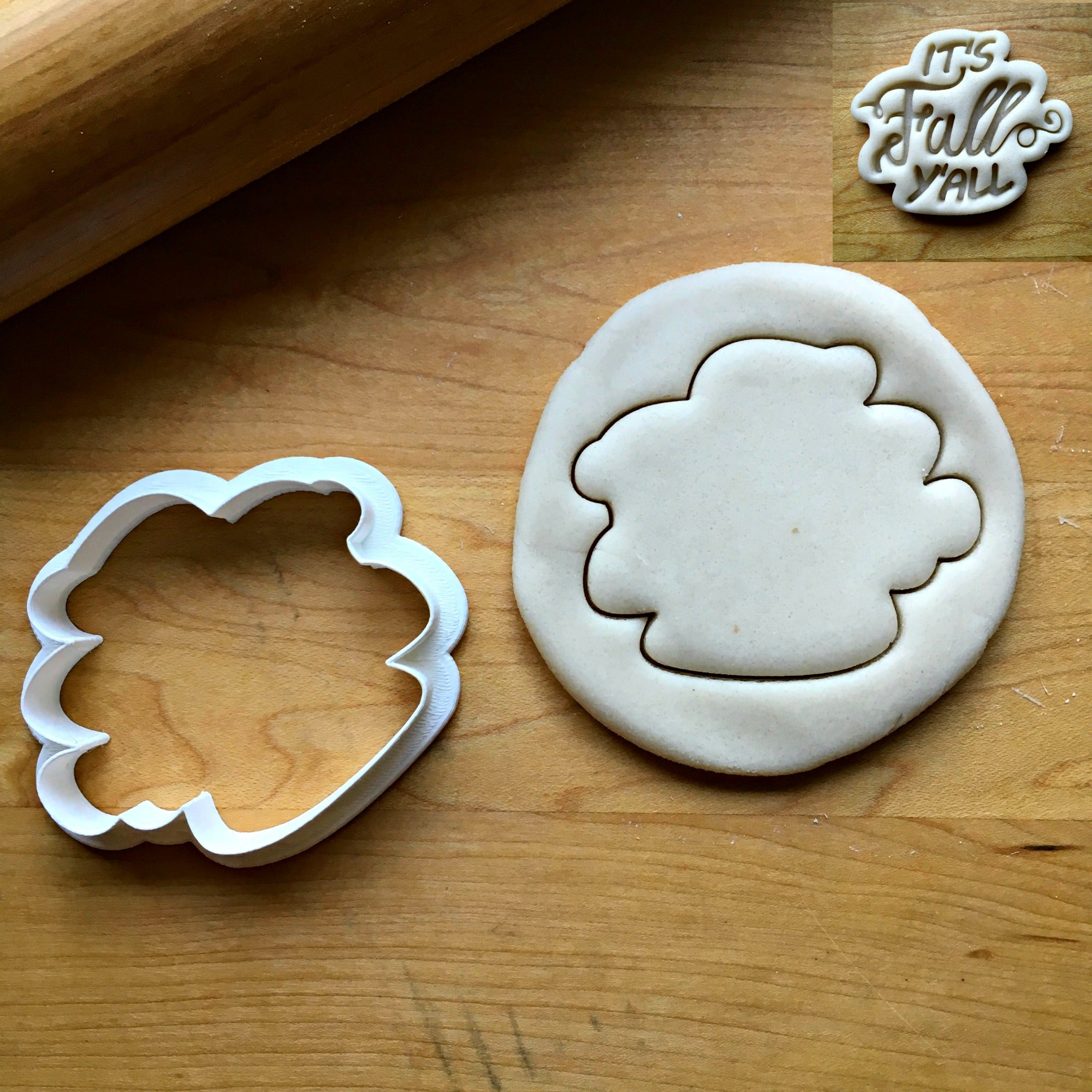 It's Fall Y'all Script Cookie Cutter/Dishwasher Safe