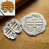 Pumpkin Wagon Cookie Cutter/Dishwasher Safe