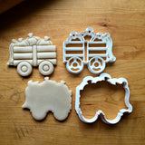 Set of 2 Pumpkin Wagon Cookie Cutters/Dishwasher Safe