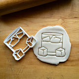 Whiskey Glass Cookie Cutter/Dishwasher Safe