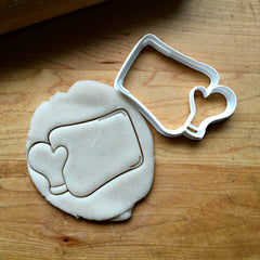 Baking Sheet with Mitt Cookie Cutter/Dishwasher Safe
