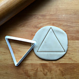 Triangle Cookie Cutter/Dishwasher Safe