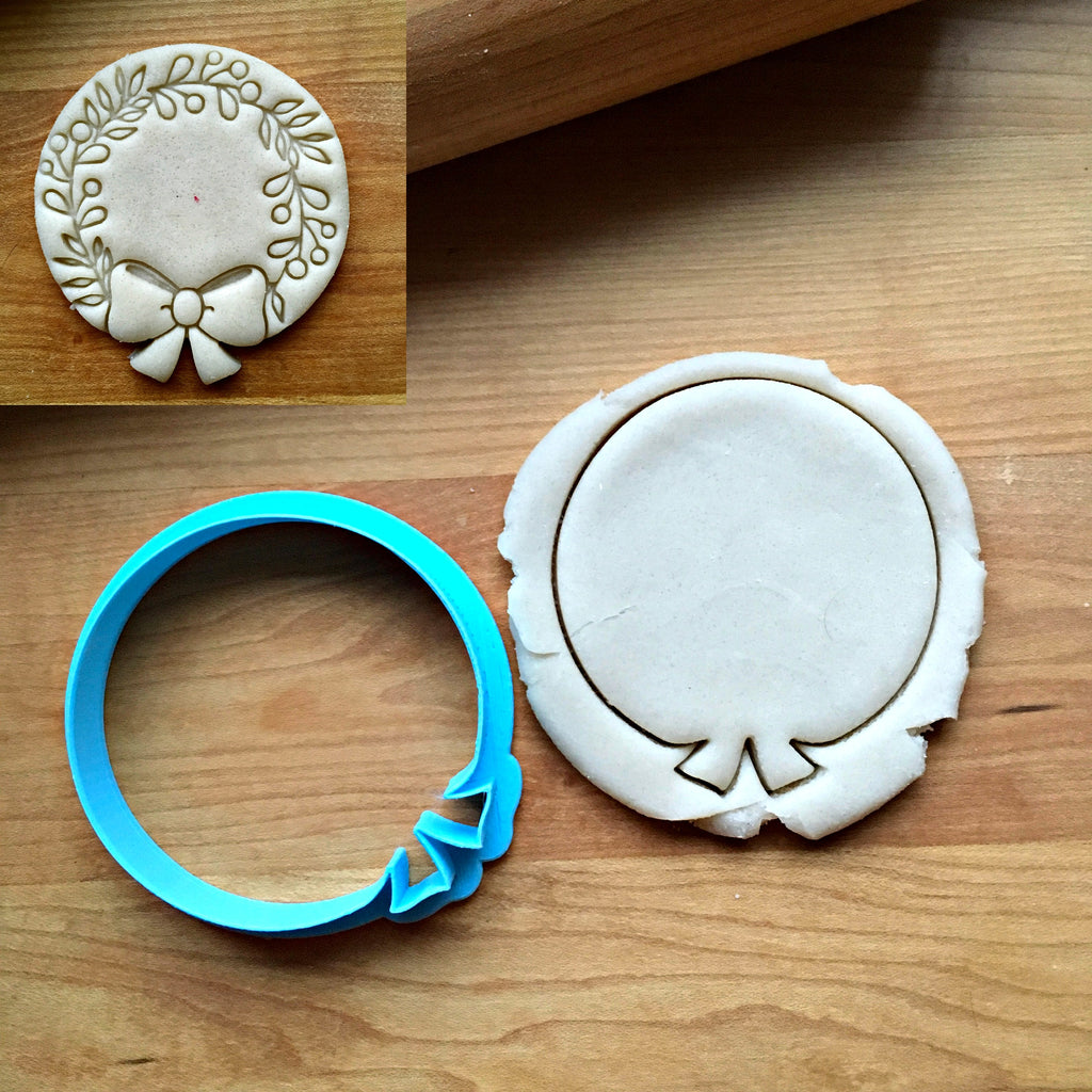 Wreath Cookie Cutter/Dishwasher Safe