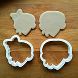Set of 2 Mr. and Mrs. Turkey Cookie Cutters/Dishwasher Safe
